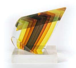 Harvey K. Littleton, glass sculpture