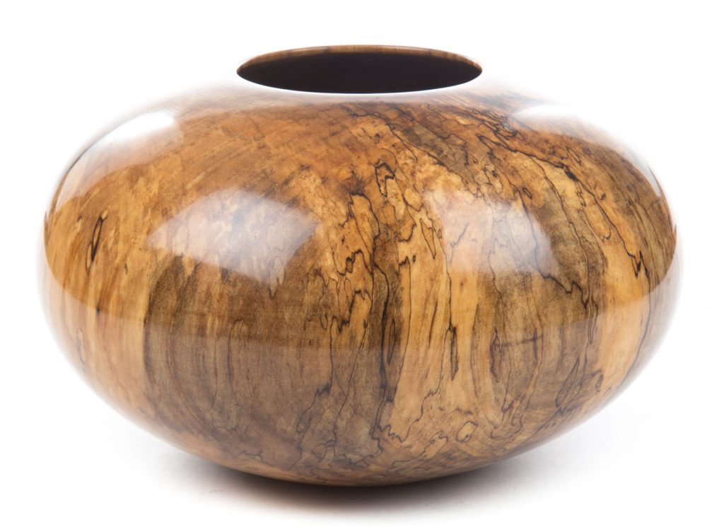 Philip Moulthrop, Spalted Red Maple, wood vessel