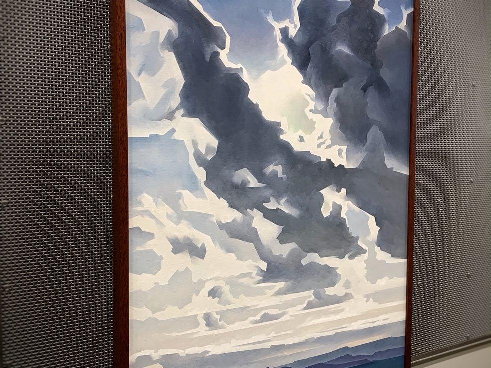 """Ed Mell. """"Desert Clouds"""""""
