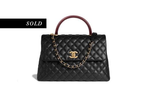 Chanel Coco Handle Medium Flap Bag