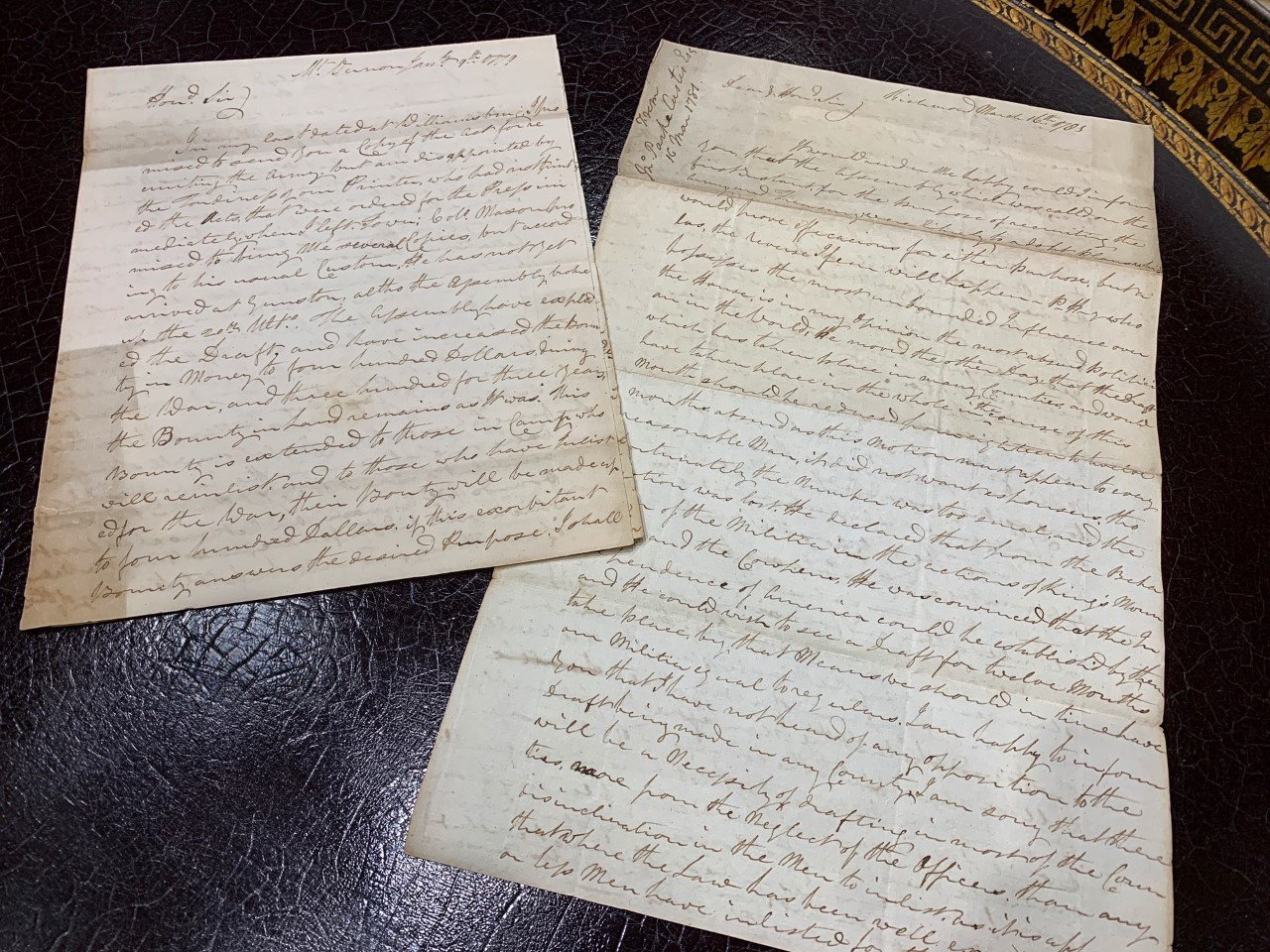 Historical Letters & Documents Hitting The Auction Block November 12th, 2020