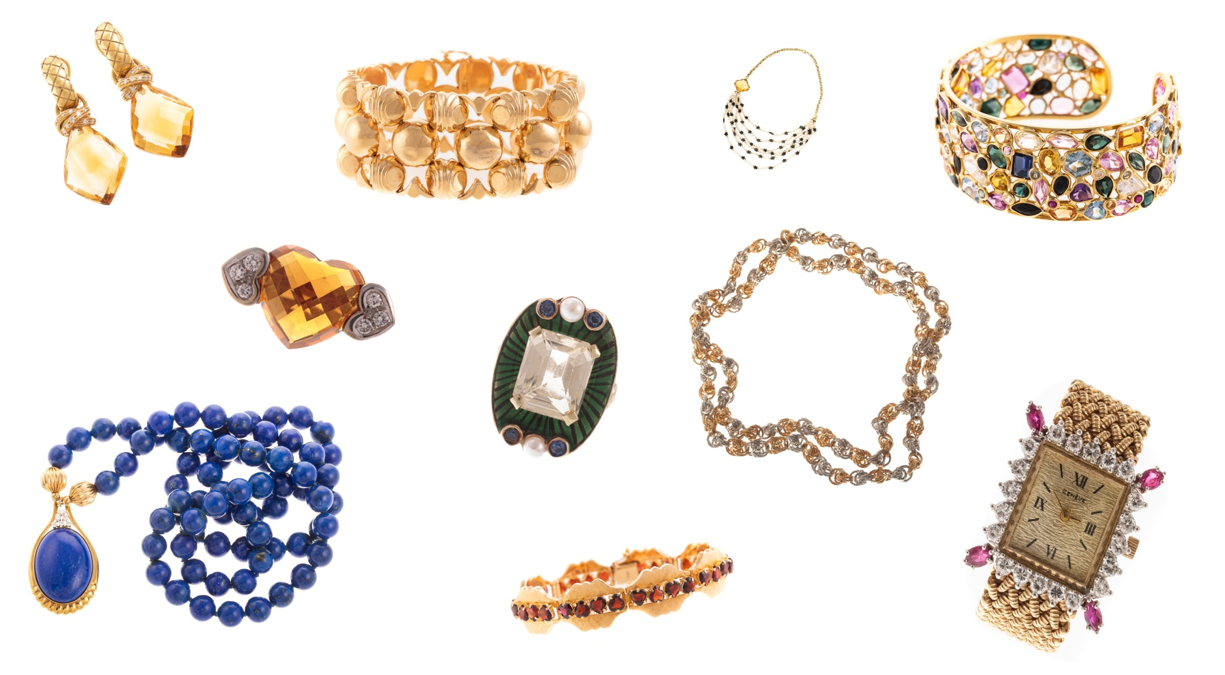 An Aria of Dramatic Jewels