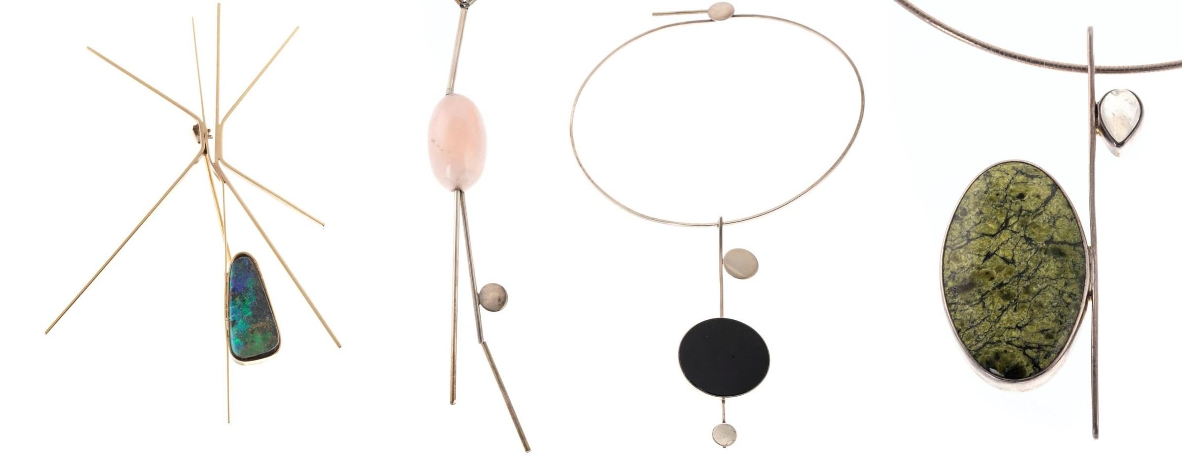 Modernist Masterpieces by Baltimore Jeweler Betty Cooke