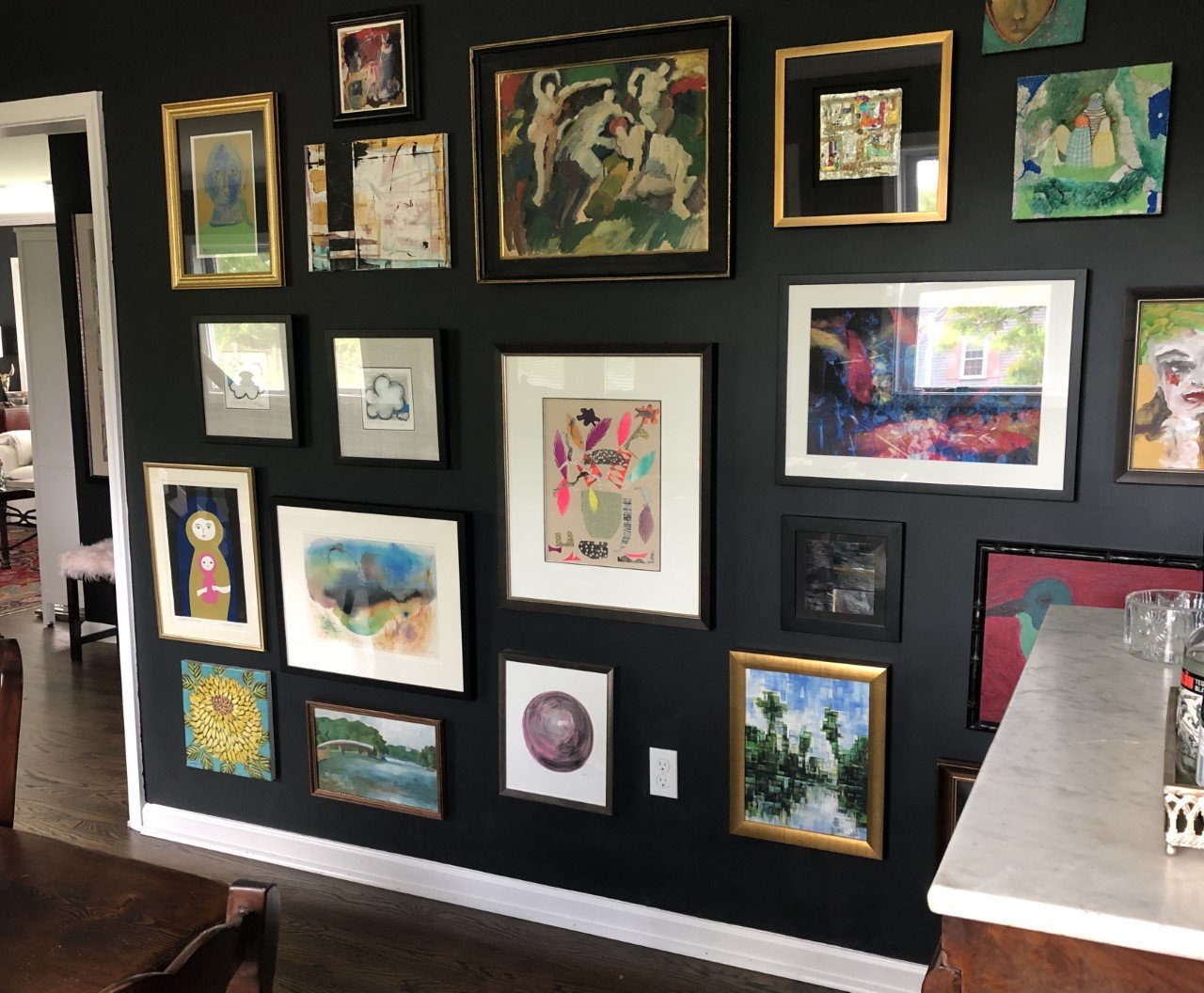 Curating the Perfect Salon Style Wall-Part II
