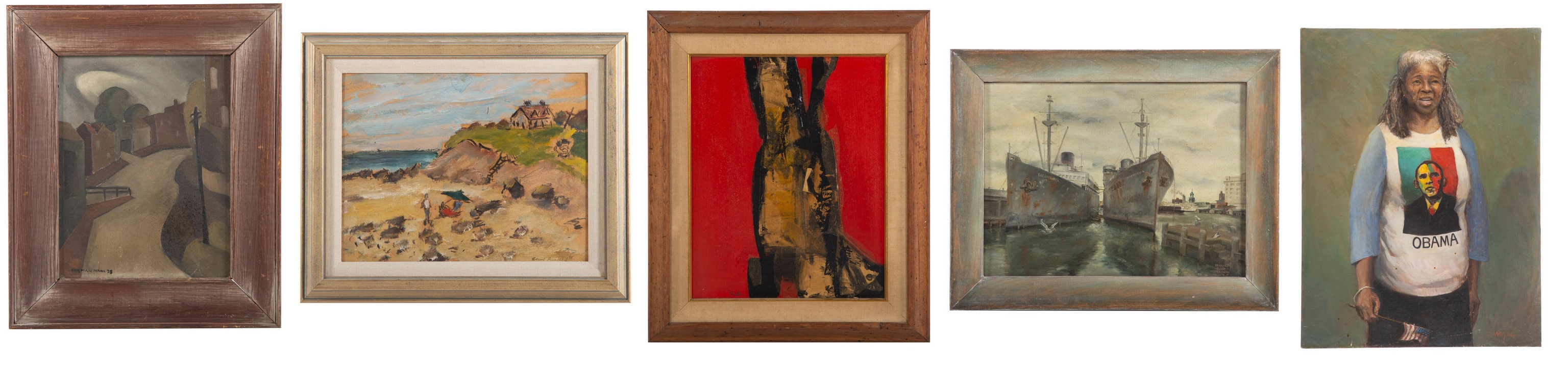 Baltimore and Regional Artists Appear in May Auction