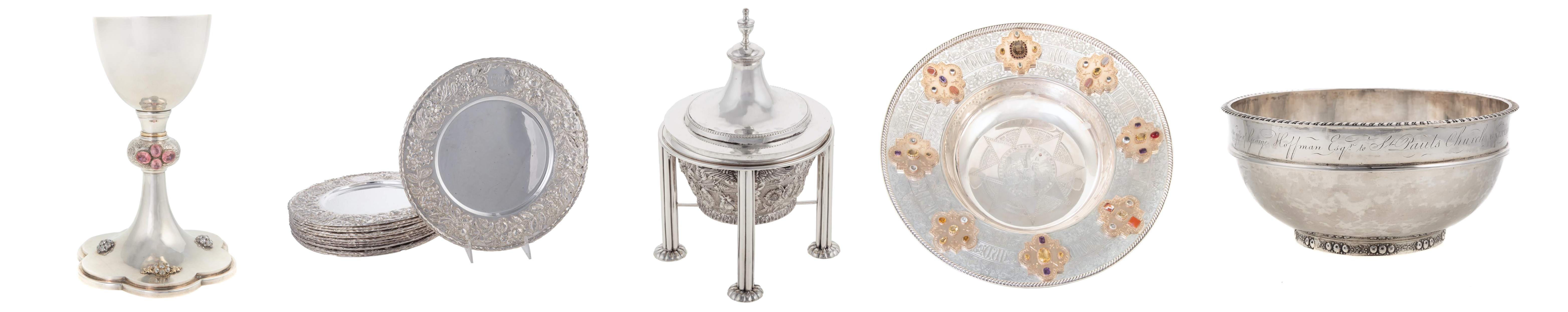 Two Important Collections Representing Baltimore Silver